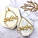 Freshwater Pearls With Fine Gold Plated Brass Hook Earrings image