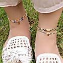 Multicolor Anklet Bracelet image