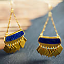 Mahtab Earrings In Lapis Lazuli image