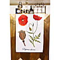 Poppy Tea Towel image