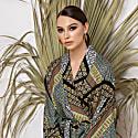 Long Japan Style Kimono Wrap Dress Massami image