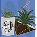 Plant Friends Illustration image