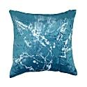 Stardust Blue Square Velvet Cushion image