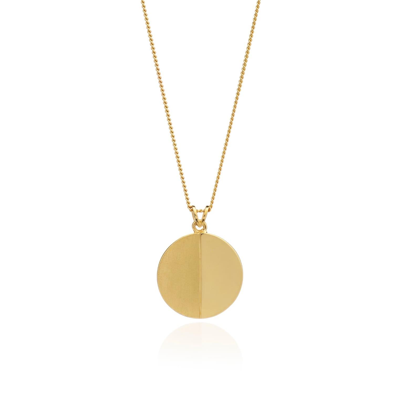 Rachel Jackson Woman Half Moon Gold-plated Bangle Gold Size Rachel Jackson London y6vUTOZ