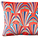 Coral Velvet Shell Deco Cushion image