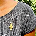 """""""Malkia"""" Queen Enamel Pin image"""
