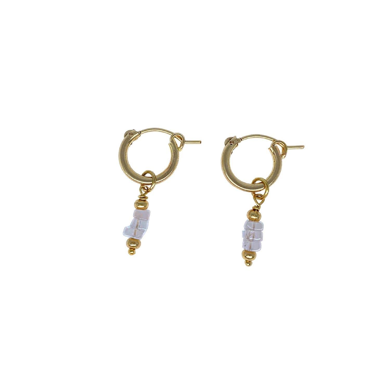Sweet Honey/'s Rose Quartz Earrings