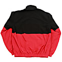 Adelphi Woven Track Top- Black & Red image