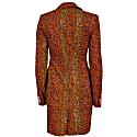Jacqui African Print Blazer Dress - Flintstone image