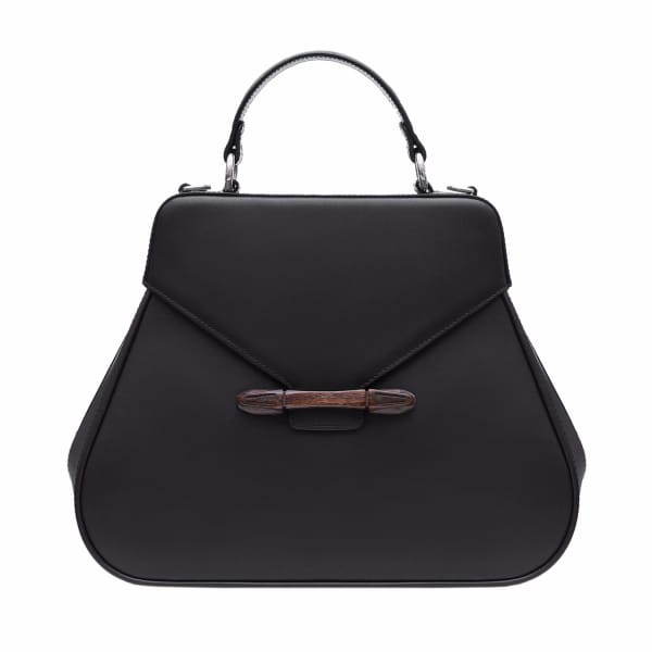 AEVHA LONDON Carnelia Tote In Black
