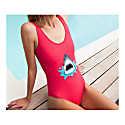 Sharky Embroidered Swimsuit image