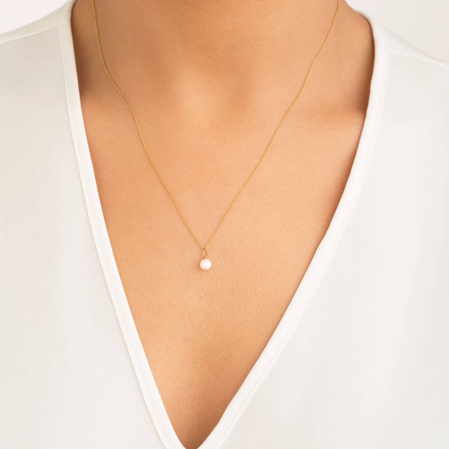 akoya one view quick cultured strand necklace p aa single pearl necklaces sku saltwater white