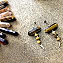 Tiger Eye Stud Earrings image