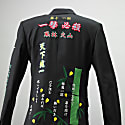Tokkou Tailored Jacket With Japanese Embroideries In Black image