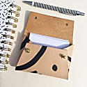 Handcrafted Mini Leather Pouch Business Card Holder - Mila Shapes image