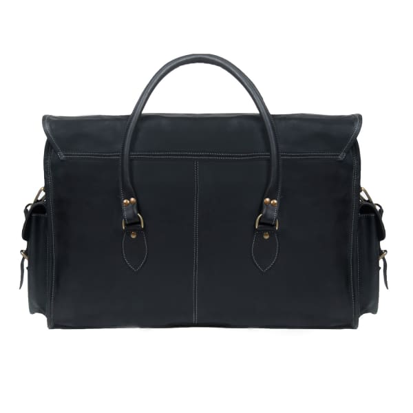 Free Shipping Fast Delivery MAHI Leather Galley Bag Weekend/Overnight Holdall in Ebony Low Cost For Sale Clearance For Nice O8gI8RLMe