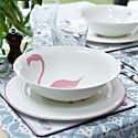 Flamingo Serving Bowl image