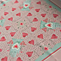 Valentine Puzzle Silk Handkerchief/Neckerchief image
