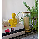 Artemis Bust Candle - Classic Yellow image