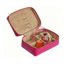 Amelia Travel Jewellery Case Pink image