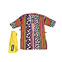 Sheer Haori Top with Yellow Belt -Ten Ten Universe image