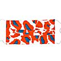 Reusable Face Mask - Papaya Leopard image