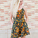 Open Back Mini Dress With Pockets Pacitan image