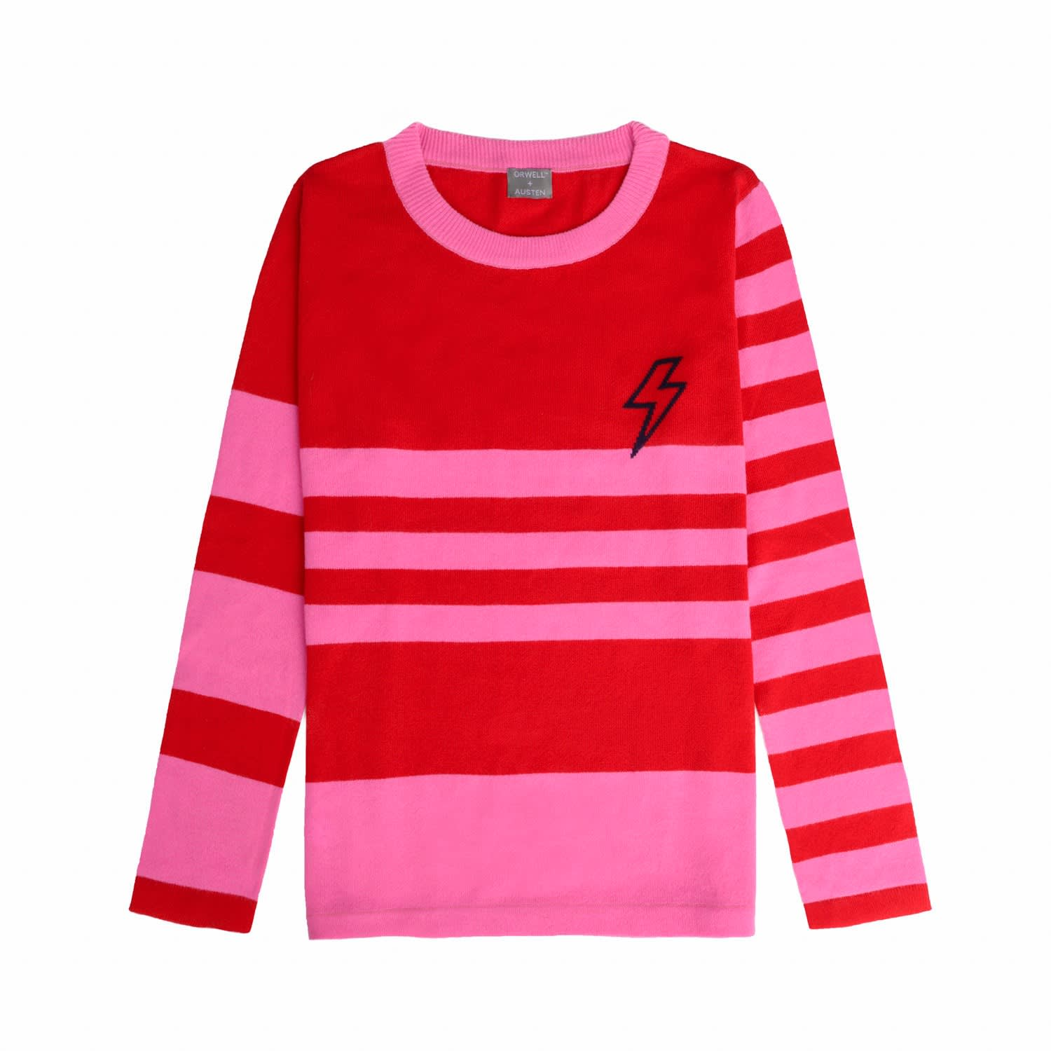 Baby Bowie Stripe Pink   Red  dbc503a55