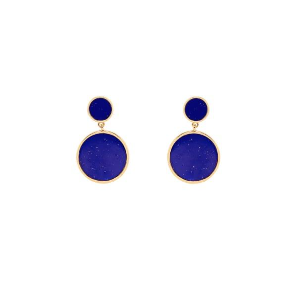 ESHVI Blue Glowing Earrings