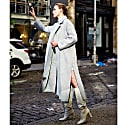 Wool Coat With Zippers image