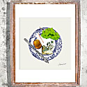 Signed Print - The Cheese Plate image