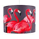 Flock Of Flamingos Lampshade - Large image