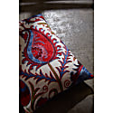 Hagia Sophia Tulip Suzani Ikat Double Sided Heritage Design Cushion image