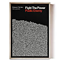 Fight The Power - Song Lyric Print image