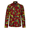 Asante Long Sleeve African Print Shirt - Golden Goose image