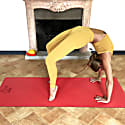 Red Natural Rubber Yoga Mat image