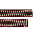 Sunda Jacquard Belt Red & Black image