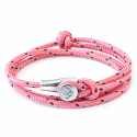 All Pink Dundee Rope Bracelet  image