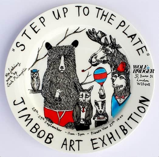 JimBob Art Exhibition- Step up to the plate