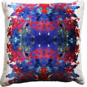 Coral Dissect Velvet Cushion  image