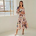 Gisele Dress - Blush Floral image