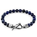 Blue Sodalite Tinago Silver & Stone Beaded Bracelet image
