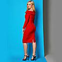 Larvik Dress Red Crepe image
