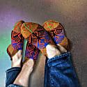 Rainbow Men Patik Socks image