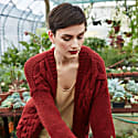 Twisted Erik Cardigan In Red image