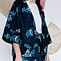 Floral Wide Sleeve Day Jacket image
