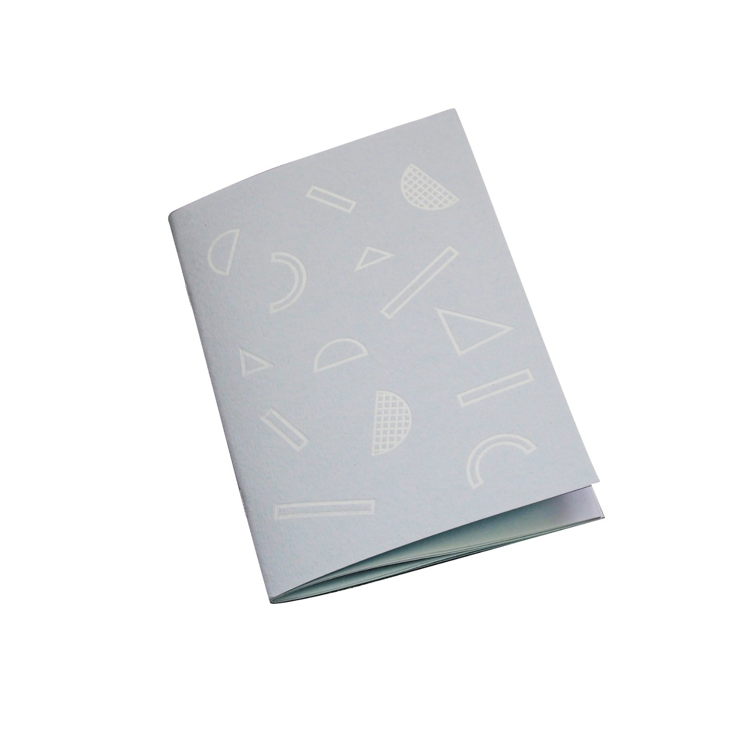 Nylon Sky - Foil Printed A6 Notebook Grey