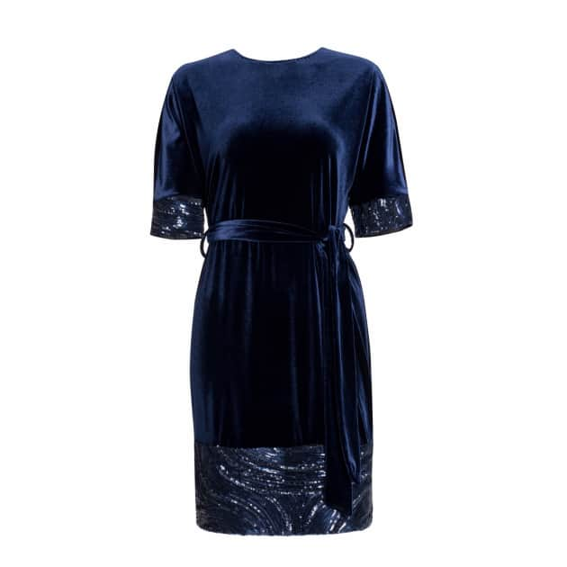 577d3898ba3e Khaki Midi Velvet Dress · Nissa. $400 $280. + Add to Wishlist
