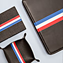 Luca Stripe Vegan Leather Document Wallet image