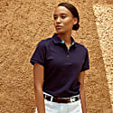 Navy Blue Ladies 'Luo' Polo Top image
